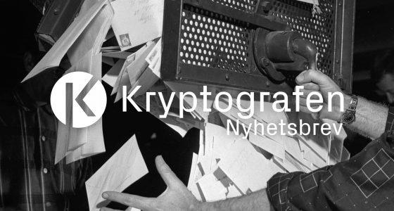 Gammel bilde fra sortering av post i USA. Illustrasjonsbilde brukt for Kryptografens Nyhetsbrev